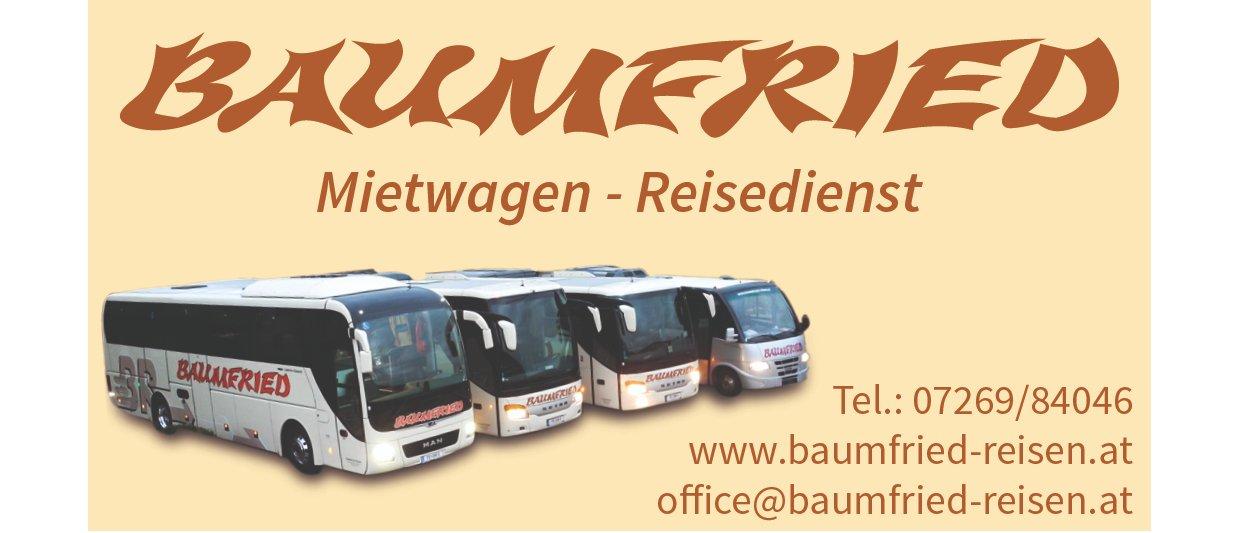 Baumfried Reisen e.U. Logo