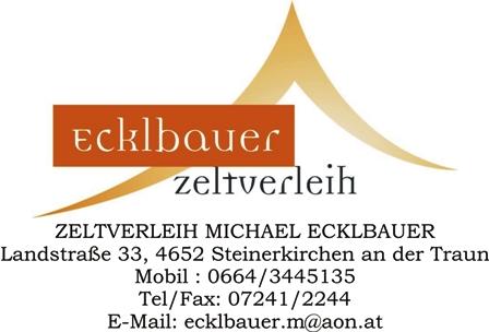 Zeltverleih Ecklbauer Logo