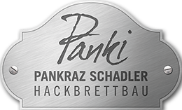 Panki-Pankraz Schadler Hackbrettbau Logo