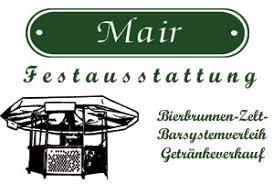 Zelt- und Festausstattung Mair Logo
