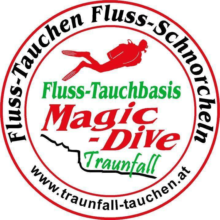 Tauchbasis Traunfall – Magic Dive Logo