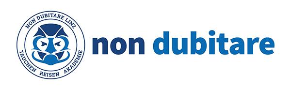 non dubitare Linz – Tauchschule Tauchshop Tauchclub Logo